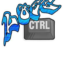 Lose Ctrl (blue) by VisionQuestArts