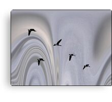 Geese in the Jet Stream Canvas Print