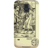 The shepheard's calender twelve aeglogues proportionable to the twelve monethes Newly adorned with twelve pictures and other devices by Walter Crane 1898 101 - September Samsung Galaxy Case/Skin