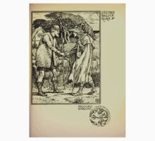 The shepheard's calender twelve aeglogues proportionable to the twelve monethes Newly adorned with twelve pictures and other devices by Walter Crane 1898 101 - September Baby Tee