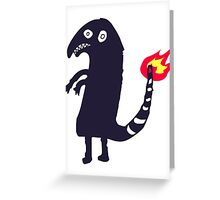 Charmander Imgur's Tattoo Greeting Card