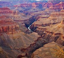 Days End, Grand Canyon by Jan Cartwright