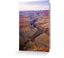 Days End, Grand Canyon Greeting Card