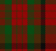 00356 Tipperary County District Tartan  Sticker
