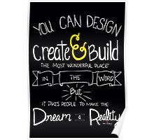 Create and Build Poster