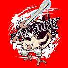 New York Mankeys FREEZE by shadypenguinn