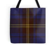 00354 Sligo County District Tartan Tote Bag