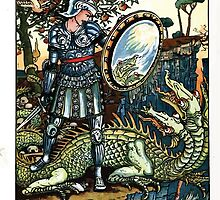 The Song Of Sixpence Pocket Book 1909 Walter Crane 47 - The Fight at the Edge by wetdryvac