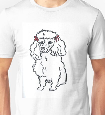 Poodle, Poodles, Pet, Dog, T-Shirt, Pillow, Tote Unisex T-Shirt