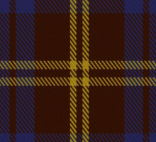 00354 Sligo County District Tartan Sticker