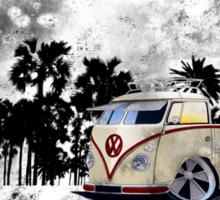 Splitty Pick-Up Grunge (B) Sticker