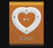iLove - Gadjets Orange by Ruy Domingues