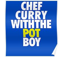 Chef Curry With The Pot Boy  Poster