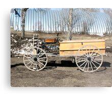 A Cowboys Last Ride Metal Print