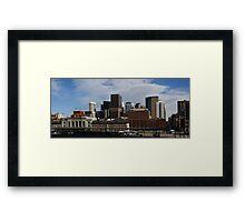 Dowtown Denver Framed Print