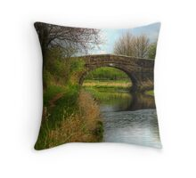 Bridge 2 - Ashby Canal Throw Pillow