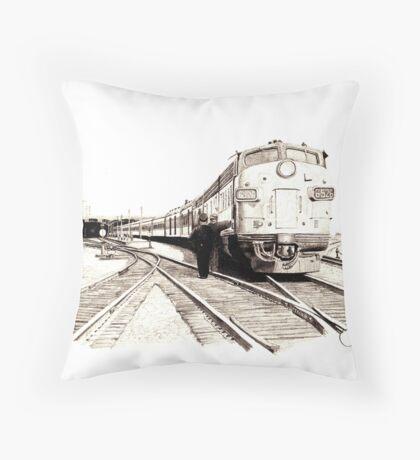 """Departure"" Throw Pillow"