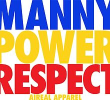 MANNY POWER RESPECT - Pacquiao by AiReal Apparel  by airealapparel