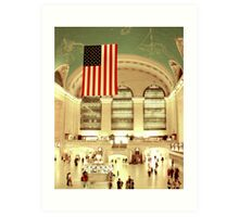 NYC Grand Central Station Art Print