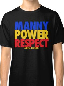 MANNY POWER RESPECT - Pacquiao by AiReal Apparel  Classic T-Shirt