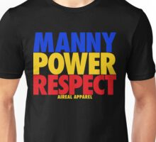 MANNY POWER RESPECT - Pacquiao by AiReal Apparel  Unisex T-Shirt