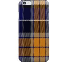 00346 Monaghan County, Crest Range District Tartan iPhone Case/Skin