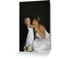 Kiss The What?!?! Greeting Card