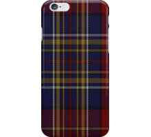 00345 Westmeath County, Crest Range District Tartan  iPhone Case/Skin