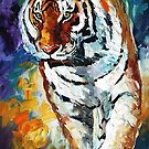 Bengal Tiger — Buy Now Link - www.etsy.com/listing/200484916 by Leonid  Afremov