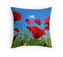 Tra la Folla * In the Crowd Throw Pillow