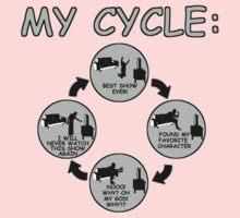 My Cycle  Baby Tee