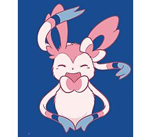 Sylveon Love Photographic Print