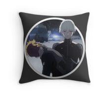 Kaneki and Hide Throw Pillow