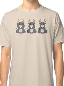Hear No, See No, Bleat No Evil Classic T-Shirt