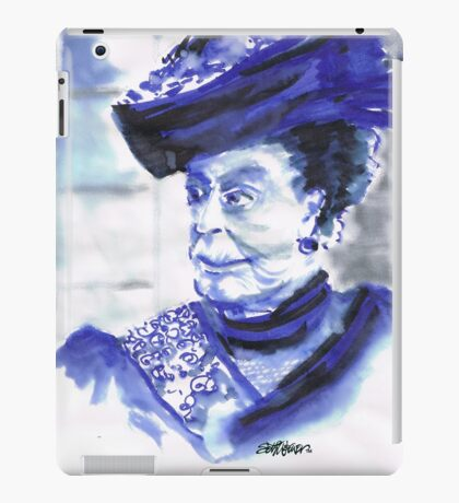 Lady Violet the Dowager iPad Case/Skin