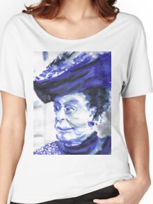 Lady Violet the Dowager Women's Relaxed Fit T-Shirt