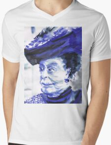 Lady Violet the Dowager Mens V-Neck T-Shirt