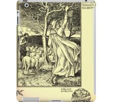 The shepheard's calender twelve aeglogues proportionable to the twelve monethes Newly adorned with twelve pictures and other devices by Walter Crane 1898 129 - December iPad Case/Skin