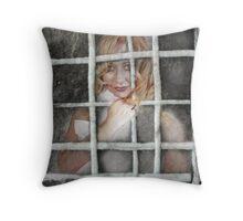 My Own Prison Throw Pillow
