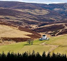 Corgarff Castle  by Larissa  White Edwards