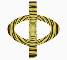 Greek Phi   Orbital Progression Toward Enlightenment   Fractal Art Fashion by SirDouglasFresh