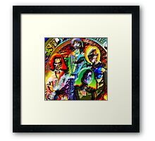 STYLE in the BLACK HOUSE Framed Print