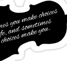 If I Stay - Choices Sticker