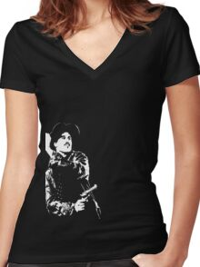 Huckleberry Women's Fitted V-Neck T-Shirt