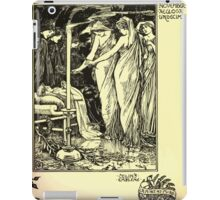The shepheard's calender twelve aeglogues proportionable to the twelve monethes Newly adorned with twelve pictures and other devices by Walter Crane 1898 119 - November iPad Case/Skin