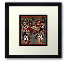 Roman Gladiators Framed Print