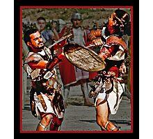 Roman Gladiators Photographic Print