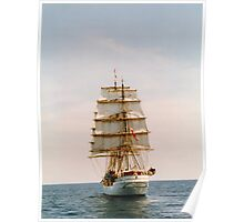 Tall Ship .. The Danmark Poster
