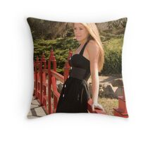 Samantha-2 Throw Pillow