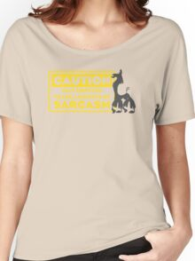 Llama Kuzco - May Contain Trace Amounts of Sarcasm Women's Relaxed Fit T-Shirt